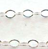 1.5mm Sterling Silver delicate Cable Chain by Foot CH4