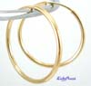 38mm 14k Gold Filled round Endless hoop earring ear wire GE15