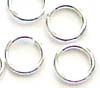 4mm 22 gauge Sterling Silver Plain round Open Jump Rings (100pcs/pk) R14