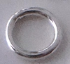 3mm 22 gauge Sterling Silver Plain round closed soldered Jump Rings (50pcs/pk) R17