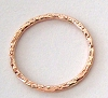 10mm (1mm thick) 14k Rose Gold Filled closed pattern Jump ring connector (10pcs/pk) RR21
