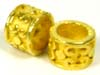 9mm x 6mm gold plated silver * Bead fits Pandora VB61