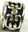 '9mm x 6mm Sterling Silver Bead Fits Pandora B115