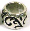 8mm x 6.5mm Sterling Silver Bead fits Pandora B118