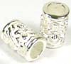 '9mm x 6mm Sterling Silver cylinder