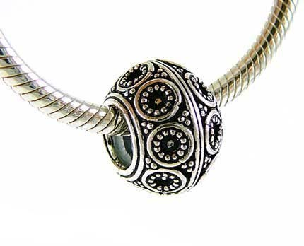 15mm x 11mm Sterling Silver Bead fits Pandora B23