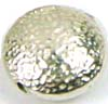 9mm Hammered Bali flat coin bead B030