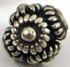 8mm x 9mm Bali Sterling Silver Bead B084