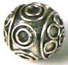 9mm Sterling Silver Bali Bead B89