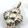 9mm Sterling silver charm, dangle, pendant 9mm D13