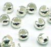 3mm Sterling Silver Crimp Bead Cover (100pcs/pk)