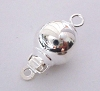 8mm round ball bead pearl clasp Clasp (1 pc) FC04