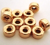 6mm yellow gold filled seamless Rondel bead (10pcs/pk) gb36