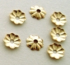 4mm x .7mm Gold Filled Tiny Round Beadcap 50pcs/pk GC02 (COPY)