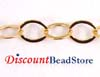 3.5mm 14k Gold Filled Flat round chain  by Foot GCH8