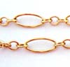 7.5mm long & short 14K Gold Filled Chain by Foot GCH25****
