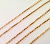 1mm 14K Gold Filled rolo Chain by foot (1 foot) Gch42