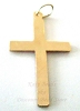 25.5 x 15 14k yellow gold Filled Cross charm pendant GD05