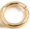 4mm 20 gauge 14k Gold Filled Open Hard Jump rings (50pcs/pk) GR24