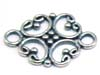 H008 Sterling Silver Connector 18mm x 12mm