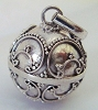 14mm Sterling Sivler Harmony ball pendant HM10