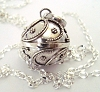 16mm Sterling Silver Harmony Ball Mexican bola Pregnancy baby necklace hm18