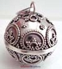 23mm Large Sterling Silver Bali Chime Harmony Ball HM47