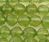 4mm Faceted round Peridot gemstone 6