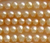 4.8 - 5mm Potato Freshwater light Peach Pearl 16