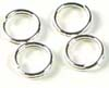 7mm Sterling silver Split Jump rings (25pcs/pk) R13