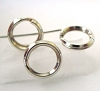 7mm strong hard Sterling silver Split rings Jump rings (20pcs/pk) R37
