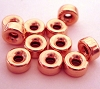 5mm Rose gold filled seamless Rondel bead (10pcs/pk) RB35