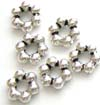7mm sterling silver daisy spacers (20pcspk)