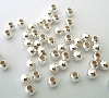 3mm Sterling Silver Seamless Bead S089  (100pcs/pk)