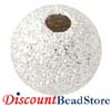 7mm Sterling silver Stardust Round Bead S97 (10pcs/pk)