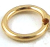 5mm 18 gauge 14k Gold filled Open Jump Rings (30pcs/pk) GR55