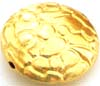 13mm gold plated silver small Bali Bead VB36