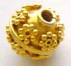 10mm gold plated silver