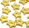 7mm gold plated silver Star Spacer VS19 (20pcs/pk)